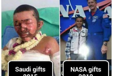 Two Different Gifts for Yemeni Boy in 3 Years