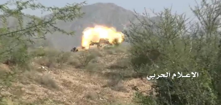 Yemeni Army Bombed Saudi military sites in Najran