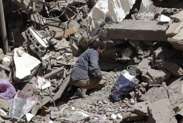 Death toll from Saudi airstrikes on Yemen nears 7,500