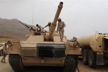 Yemeni Troops Blow Up Saudi Tank With Rocket Fire