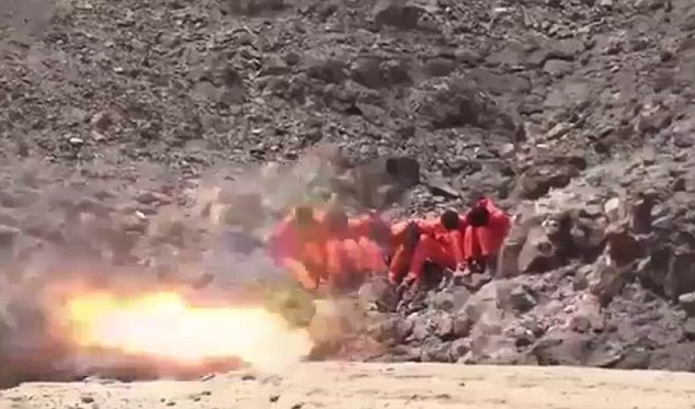 ISIS in 4 Videos Shows Barbaric Executions of 23 Citizens in Yemen