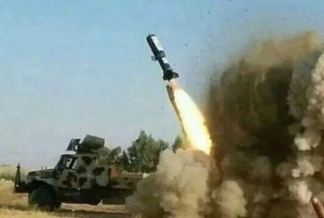 Yemeni Army Fires  Qahir 1 rocket at Saudi Air Base in Khamis Mushait
