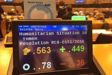 Al-Houthi Welcomes The Europe Parliament Decision